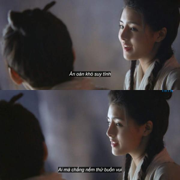 Với một người còn trẻ đã chịu nhiều biến cố như Trương Vô Kỵ,mỗi câu hát của Tiểu Chiêu đều thật ý nghĩa