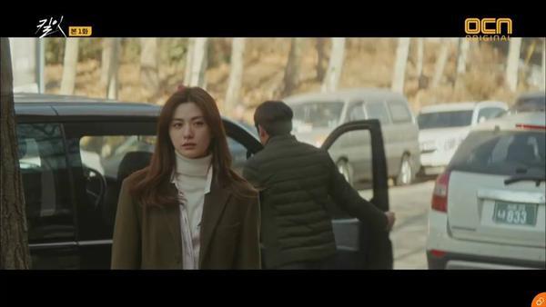 Hyun Jin không hề tin nghi phạm là kẻ sát nhân thật sự.