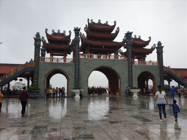 Chùa Ba Vàng hiện là một trong những ngôi chùa nổi tiếng miền Bắc