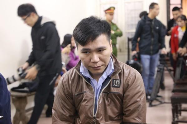 Châu Việt Cường trong phiên tòa xét xử