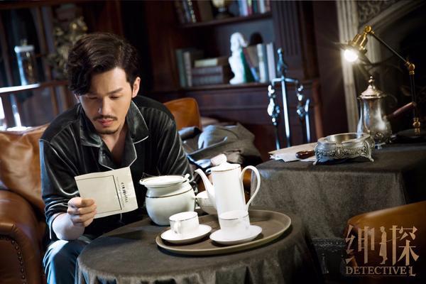 """Tạo hình của Bạch Vũ trong phim truyền hình bí ẩn, gay cấn """"Detective L""""."""