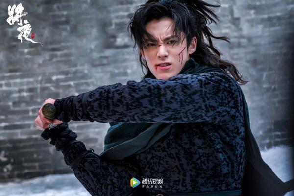 """Cảnh hành động của Vương Hạc Đệ trong phim truyền hình """"Ever Night 2""""."""