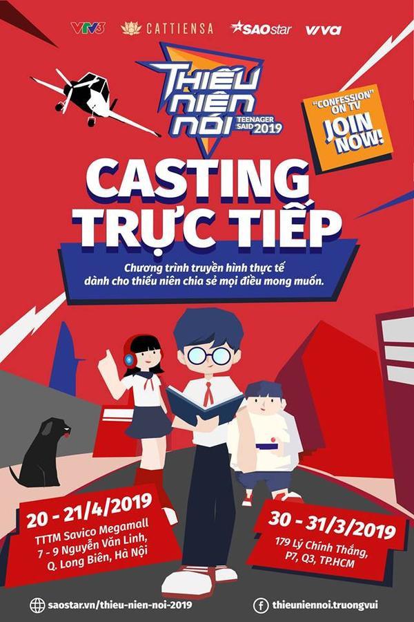 Thiếu niên nói phiên bản Việt chính thức khởi động casting, ngại ngần gì mà không nhanh chân tham dự?