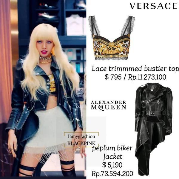 Lisa được YG chăm chút váy áo kĩ càng tại MV Kill This Love sau nhiều lần bị ví là con ghẻ