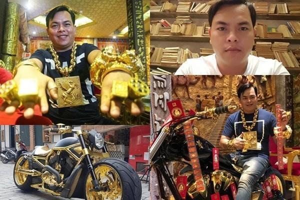 Phúc XO được coi là đại gia đeo nhiều vàng nhất Việt Nam.