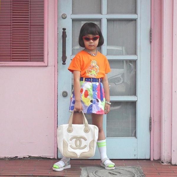 Fashionista Nhật Bản mới 8 tuổi đã nổi như cồn nhờ style thời trang cá tính