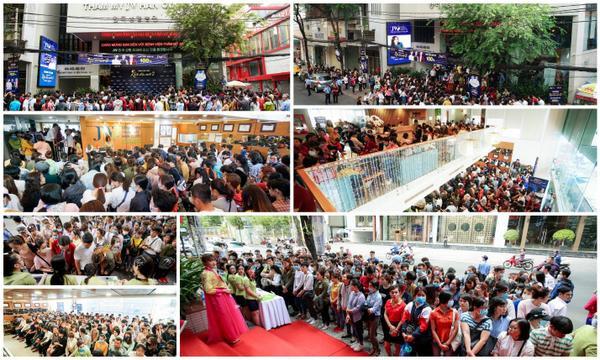 Casting Nhan sắc mới- Khởi đầu mới mùa 2 thu hút hơn 3000 thí sinh tham dự.