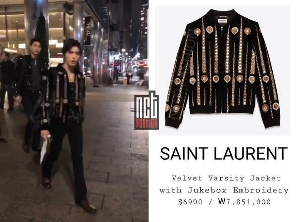 Trưởng nhóm cái gì cũng phải hơn người. Chiếc áo khoác 'cute' của Taeyong có giá 160 triệu VNĐ.