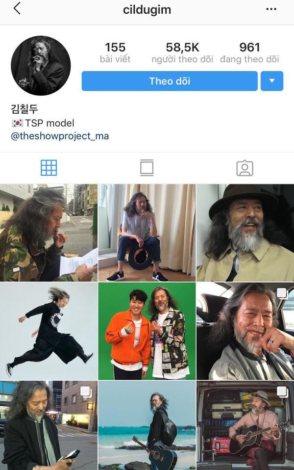 """Ông sở hữu số lượt follow """"khủng"""" trên instagram."""