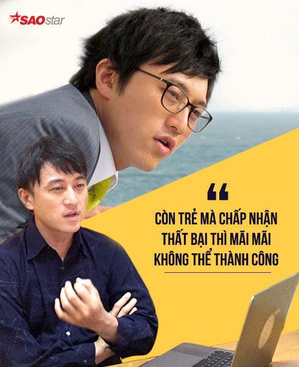 """Nếu các bạn trẻ chấp nhận thất bại, nản lòng và bỏ cuộc thì sẽ không bao giờ thành công được"""", anh Taku Tanaka chia sẻ."""
