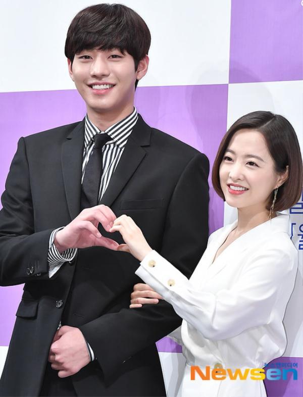 Họp báo Abyss: Park Bo Young lộ dấu hiệu lão hóa, đẹp đôi bên Ahn Hyo Seop ảnh 22