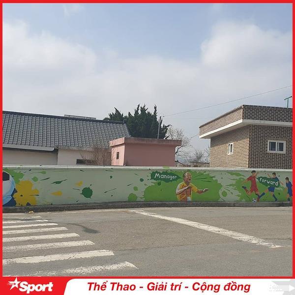 Tràn ngập hình bích họa HLV Park Hang Seo và Việt Nam ở Hàn Quốc ảnh 2