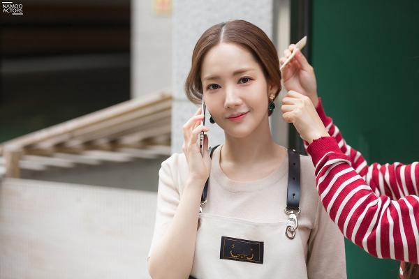 Bí mật nàng fangirl: Park Min Young chuẩn nữ thần, đẹp mọi khoảnh khắc bên Kim Jae Wook ảnh 8