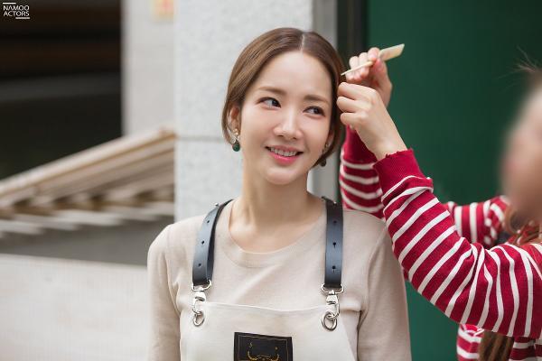 Bí mật nàng fangirl: Park Min Young chuẩn nữ thần, đẹp mọi khoảnh khắc bên Kim Jae Wook ảnh 9