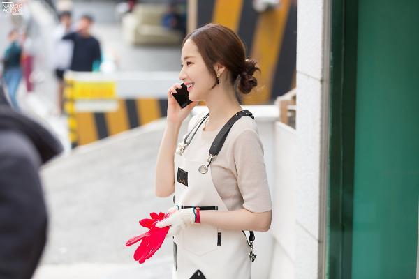 Bí mật nàng fangirl: Park Min Young chuẩn nữ thần, đẹp mọi khoảnh khắc bên Kim Jae Wook ảnh 11