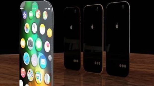 Ý tưởng iPhone 7 mỏng 5 mm, giao diện giống Apple Watch
