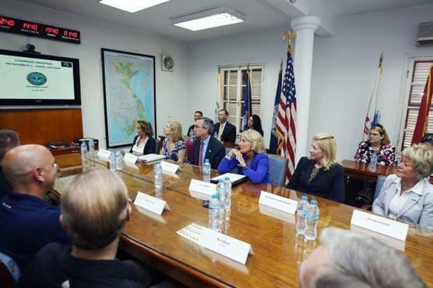 Hoạt động của đệ nhị phu nhân Mỹ trong chuyến thăm Việt Nam