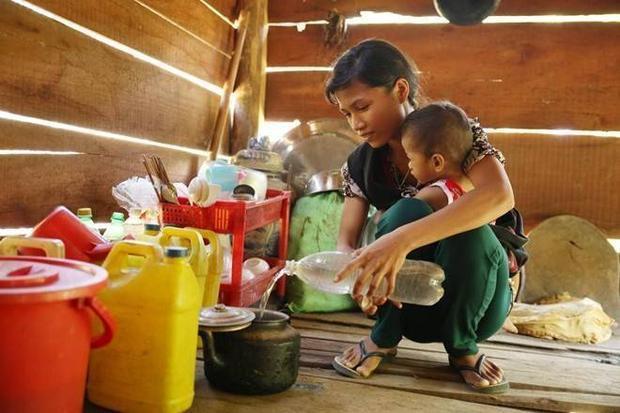 Tài trợ 100 triệu mang nước sạch về thôn