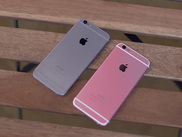 Mở hộp iPhone 6S nhái phiên bản màu hồng từ Trung Quốc