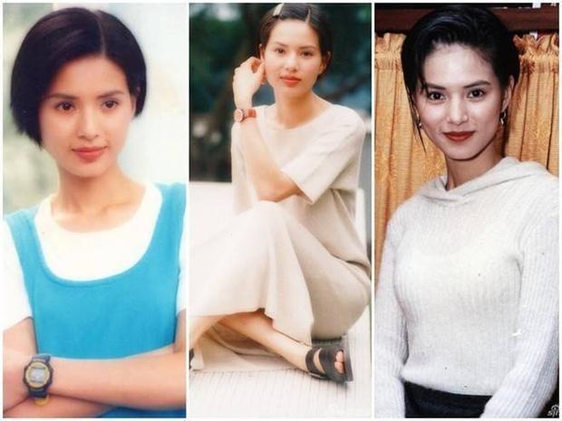Nhan sắc rực rỡ của mỹ nhân Hong Kong thời trẻ