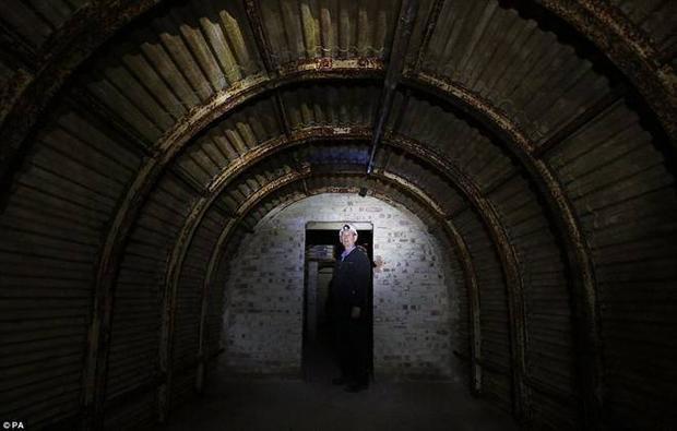 Bên trong hầm tuyệt mật của Anh thời Thế chiến II