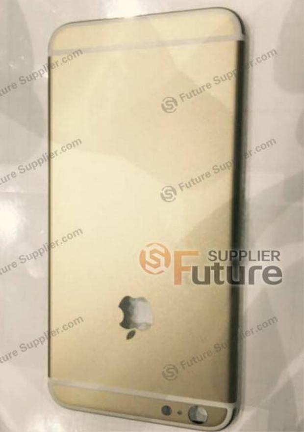Ảnh vỏ sau của iPhone 6S Plus xuất hiện nhiều chi tiết mới