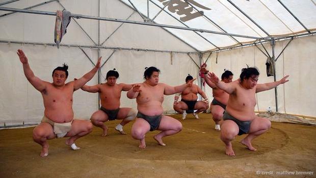 Sự khổ luyện của võ sĩ sumo
