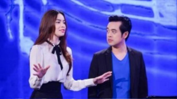 Hồ Ngọc Hà làm cố vấn cho đội Dương Khắc Linh.