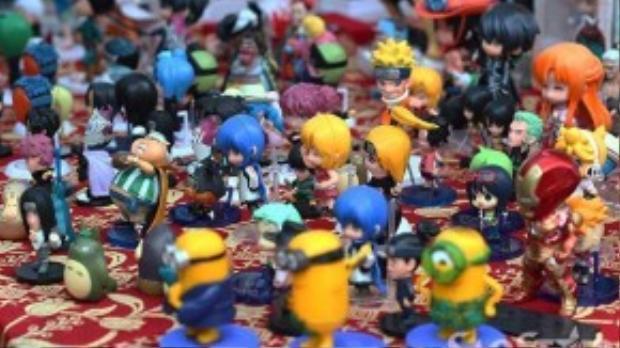Những nhân vật hoạt hình Nhật Bản từ lâu đã gắn liền với tuổi thơ của không ít trẻ em Việt Nam.