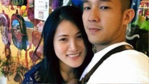 Hai nhân vật chính trong màn cầu hôn tối hôm qua là Trung Trương và Ngọc.