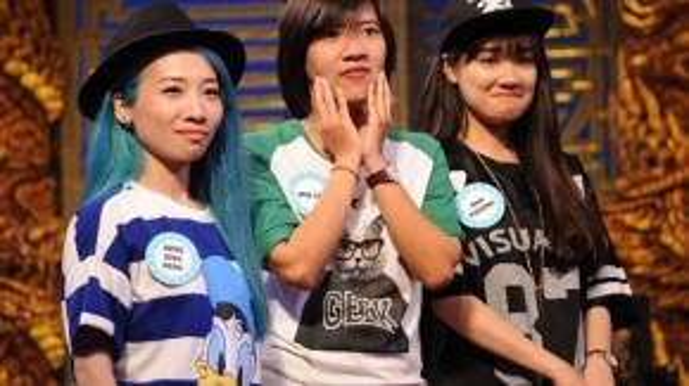Đội chơi Hằng Bingboong, Iris Cao và Nhã Phương.