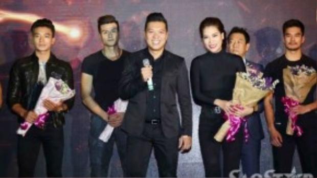 """Bộ phim """"Truy sát"""" với sự tham gia của Trương Ngọc Ánh, Thiên Nguyễn, Hiếu Nguyễn, Maria Trần, Vĩnh Thụy, Cường Seven, Lam Vissay, Marcus G… dự kiến ra rạp vào đầu năm 2016."""