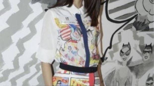Ngô Thiên Ngữ - bạn gái 9x của Lâm Phong.