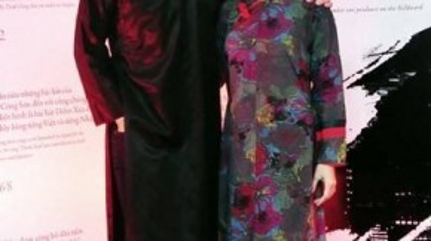 Thanh Bùi và Hoàng Quyên.