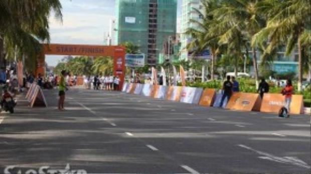 Cuộc thi diễn ra tại biển Đông - một trong những cung đường biển đẹp nhất Đông Nam Á.