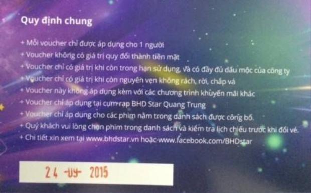 BHD Star Quang Trung tặng 100 vé xem phim miễn phí cho độc giả Saostar