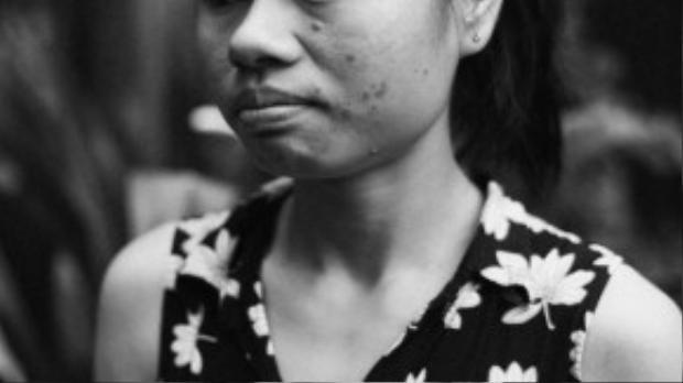Chị Trương Thị Minh Loan, sinh năm 1989, hiện là nhân viên văn phòng.