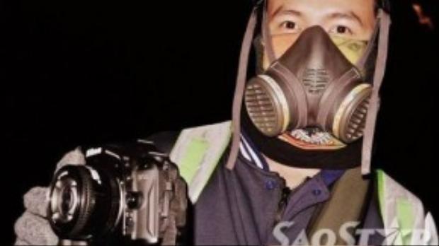 Bạn sẽ được trang bị mặt nạ phòng độc khi tham quan núi lửa Ijen.
