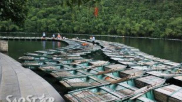 Khu du lịchTràng An có khoảng 1.000chiếc thuyền được đưa vào khai thác du lịch. Việc thuyền nhiều nhưng khách không phải lúc nào cũng đông đã khiến công việc lái thuyền vốn đã vất vả nay lại càng khó khăn hơn.