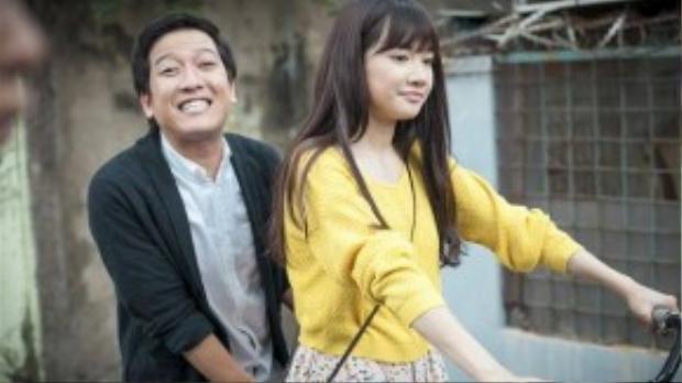 """Trường Giang và Nhã Phương bắt đầu hẹn hò sau khi tham gia một dự án phim điện ảnh """"49 ngày""""."""