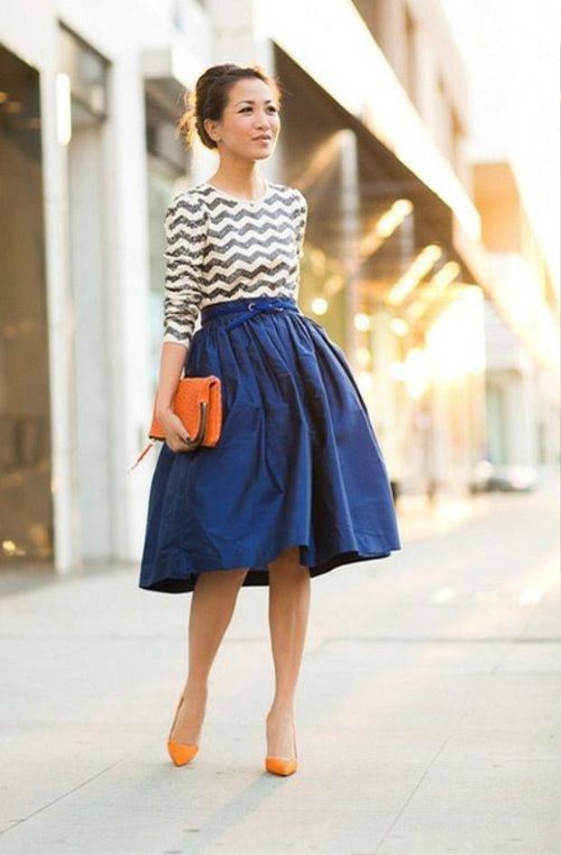 Gợi ý trang phục công sở cho cô nàng thường xuyên di chuyển