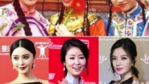 Thêm một hình ảnh long lanh sau 18 năm của Triệu Vy, Phạm Băng Băng, Lâm Tâm Như. Hai hình ảnh cách nhau gần 20 năm nhưng lại cho cảm giác chỉ như …2 ngày