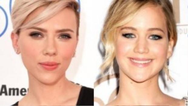 Thu nhập của top 2 Jennifer Lawrence - 52 triệu USD, Scarlett Johansson - 35,5 triệu USD vẫn kém xa so với đồng nghiệp nam.