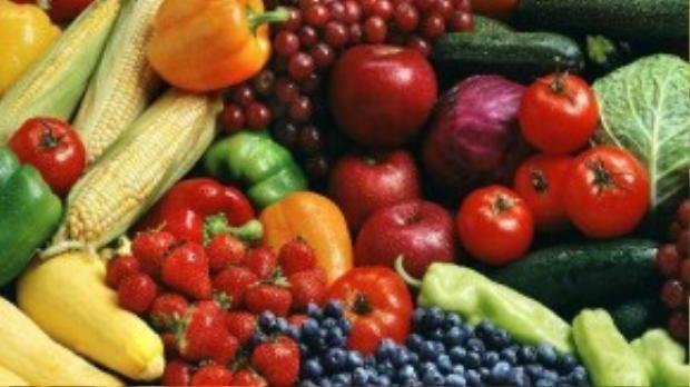 Các loại thực phẩm có màu đỏ sậm, tím… là nguồn dưỡng chất chống oxy hóa vô tận từ thiên nhiên.