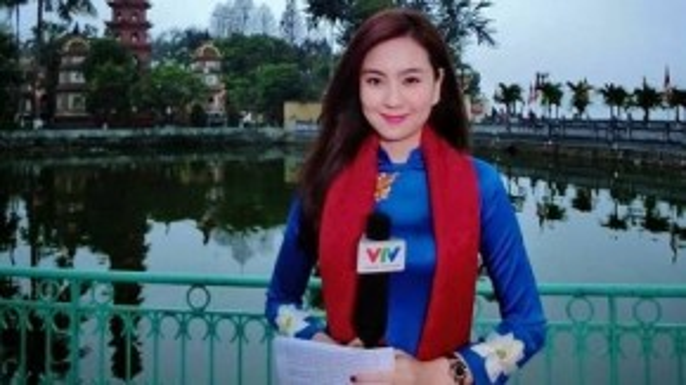 Cận cảnh một buổi lên hình trong ngày Tết của cô gái thời tiết Mai Ngọc
