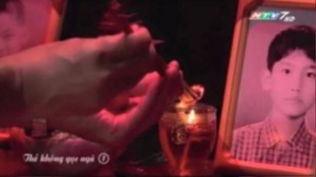 Hình ảnh Changmin cắt ra từ bộ phim Thề không gục ngã.