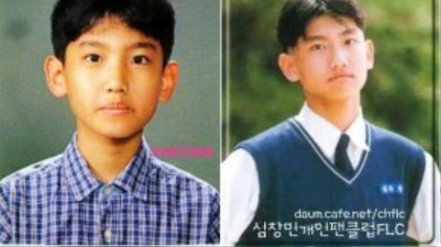 Một số ảnh thời thơ ấu của Changmin.