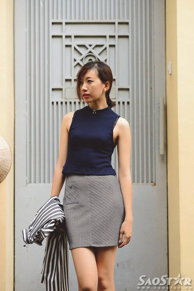 Phan Linh gợi ý mix đồ đa phong cách cùng với sneaker