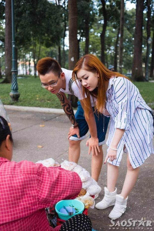 Đăng Quang, Hạ Vy tình tứ dạo phố Sài Gòn