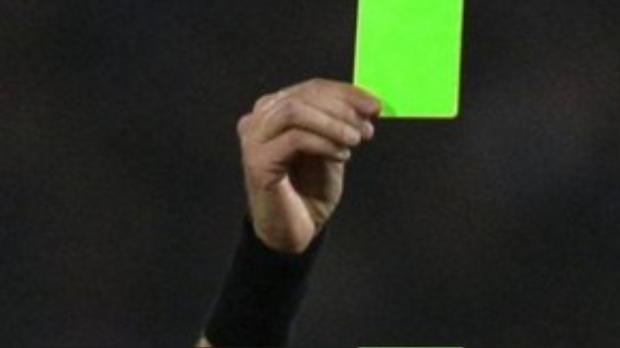 Chiếc thẻ xanh sẽ sử dụng lần đầu tiên vào cuối tuần này ở giải Serie B